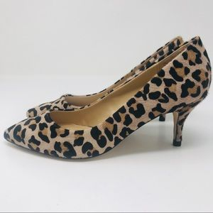 ZARA Basic Animal Print Classic Pumps Heels Shoes